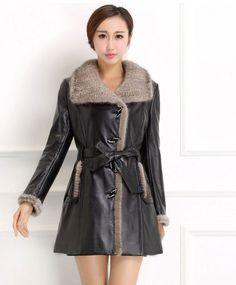 Faux Sheepskin Coat | winter coats | Pinterest