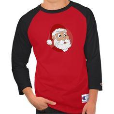 Santa Clause Cartoon Tees