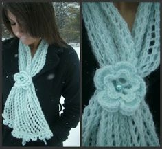 Jem Knit: Snow, Cone and a handful of yarn