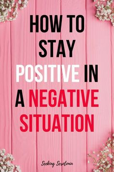 Positive thinking tips: 12 steps to stay positive in a negative situation Motivational Quotes Positive People, Negative People, Negative Emotions, Negative Thoughts, Positive Thoughts, Positive Vibes, Positive Thinking Tips, Staying Positive, How To Stay Positive