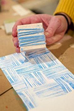 KoloDIY: Штампы для ткани и бумаги своими руками
