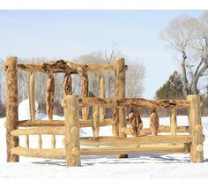Make Log Furniture Any Way You Like It Bed FrameBed Frame PlansBed FramesRustic