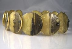 """choker """"jade"""" 