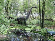 Dierentuin Amersfoort, het Dinosauriërs bos