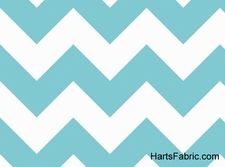 Chevron patterned fabric in every color