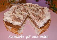 Da er tiden inne for å dele oppskrift på denne herligheten her med dere! Denne kaken ble altså så...