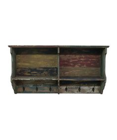 Take a look at this Antiqued Wall Shelf by Three Hands Corporation on #zulily today!