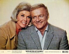 "1/08/14 2:58a   Warner Bros. Pathe Cinema Center Films    ''With Six You Get Eggroll"" Doris Day/Brian Keith   A Great Couple,  Fun, Sexy Team!    In her Final Film   1968."