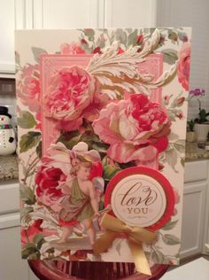 Valentine card by Elaine Kemperas