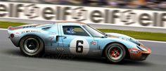 Laschet Geoffrey Artiste automobile: GT40 24h du Mans 69 Jacky Ickx / Jackie Oliver