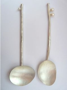 becca williams: flotsam pearl teaspoons