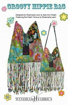 Free Bag Pattern - Groovy Hippie Bag Pattern