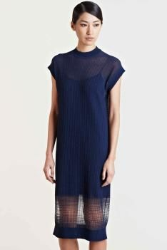 The knitted dress: S/S 14 women's commercial update