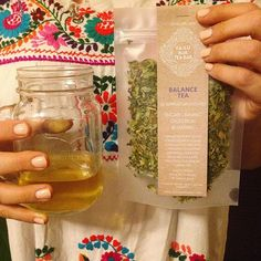 #teapackaging #herbaltea #packaging Matte Frost Stand Up Pouches curated by Copious Bags™