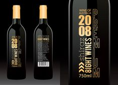 8ight Wines -  Gold Coast Product Label Design