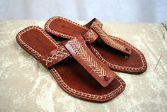 Vintage Southwest Moccasin Company Sandals by RogueRetro on Etsy, $48.00