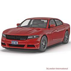 Dodge Charger 2015 3d model http://www.turbosquid.com/3d-models/3d-dodge-charger-2015/907957?referral=3d_molier-International