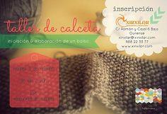 Obradoiro de calceta, elaboración dun bolso @ Xirxilar - Ourense taller manualidades diy