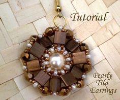Lots of Free Jewelry Making Tutorials & Lessons: FREE Tila Beads Beading Tutorials