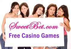 Play over 500 free casino games including Baccarat, Bingo, Blackjack, Craps, Poker, Roulette, Slots and Video Poker @ Sweet Bet
