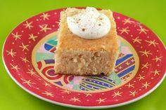 Egg Nog Tres Leches Cake