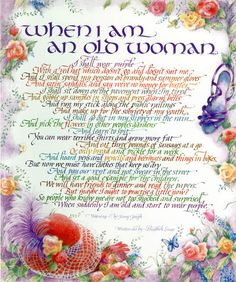 poem about ladies in red hats and purple dresses - Google Search