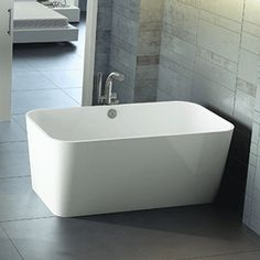 Victoria + Albert Baths:  ENGLISHCAST® is made from finely ground Volcanic Limestone™ mixed with resin. As the stone-rich alternative to both cast iron and acrylic it is 100% one piece, hand finished and packed with naturally desirable properties:  Warm Due to the quality of the ENGLISHCAST® material it has high insulation properties and is warm to the touch  Beautiful The Volcanic Limestone™ mineral delivers a naturally white, gloss finish, featuring excellent stain resistance.
