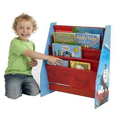 #Thomas & #friends sling #bookcase kids furniture new tank engine book,  View more on the LINK: http://www.zeppy.io/product/gb/2/291508993219/