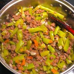 Vagem com carne Chili, Food And Drink, Soup, Beef, Recipes, Meat Recipes, Healthy Recipes, Tasty Food Recipes, Ground Beef