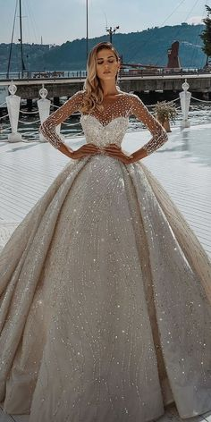 Disney Wedding Dresses, Cute Prom Dresses, Long Wedding Dresses, Princess Wedding Dresses, Ball Dresses, Pretty Dresses, Bridal Dresses, Beautiful Dresses, Ball Gowns