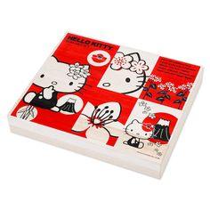 Three major buckwheat wooden box assortment Hello Kitty