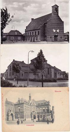 Utrecht 32x - oude stadsgezichten ##