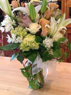Sympathy Flowers... @nkfloraldesign http://nkfloraldesign.com