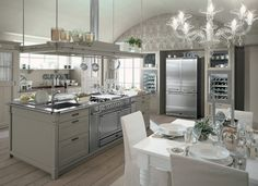 interior design, traditional kitchens, interiors, wooden furniture, kitchen designs, dream kitchens, design style, white kitchens, stainless steel
