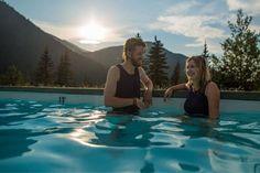 Miette Hot springs © Parks Canada / O. Robinson