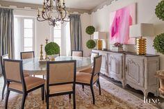 Pink rooms are ultra-flattering! Here are 24 ways to use this beautiful, versatile color.