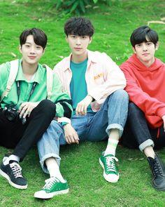 Dorama: A little thing called first love📷 Guan Lin, Panda Love, Lai Guanlin, Thai Drama, Kpop, Bright Stars, 3 In One, Asian Actors, Drama Movies
