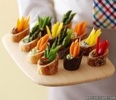 about a million different cute party food ideas... by lcommerford