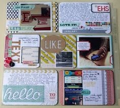 nice post if you don't have many pictures and want to use lots of journaling