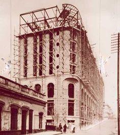 Construccion del Alvear Palace Hotel