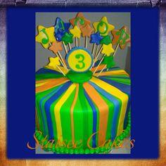 Boy Birthday Cake 3rd Birthday Cake