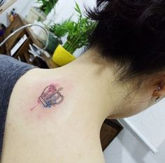 Small Watercolor Crown by Doy