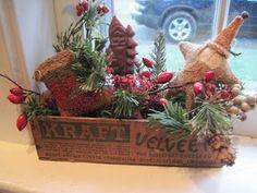 Nice primitive use for Kraft box