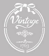 fleurs style rustique Format A4 297 D/écoration murale x 210 mm Pochoir en forme de c/œur style Shabby Chic Vintage Petit d/étail Mylar