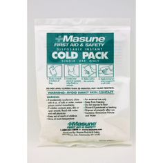 Masune® Single Use Cold Pack P05-0227301-8200