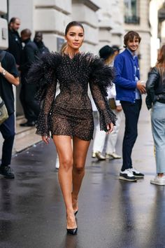 Olivia Culpo Out in Paris - Celebrity Style Look Fashion, High Fashion, Fashion Show, Womens Fashion, Fashion Design, Looks Party, Elegantes Outfit, Mode Streetwear, Looks Style