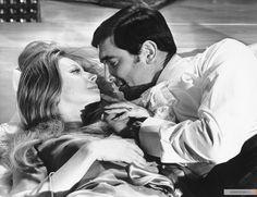 Chapter George Lazenby: On Her Majesty's Secret Service All James Bond Movies, James Bond Watch, George Lazenby, Secret Service, Movie Props, It Cast, Author, Fan Art, Couple Photos
