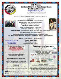 Rock Ledge Ranch Pow Wow on September 20, 2014