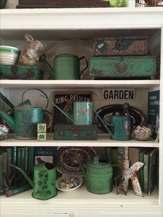Addicted to shabby green Yes!