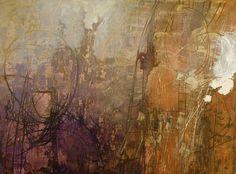 """Linda Nardelli, """"Energy Field"""", mixed media"""